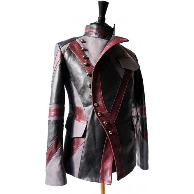 7e9b8b6e842 Slim Fit Mens Union Jack Military Jacket